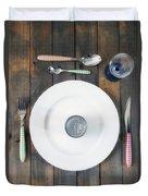 Bachelor's Dinner Duvet Cover by Joana Kruse