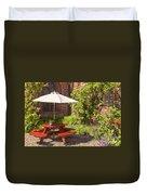 Back Garden  Duvet Cover