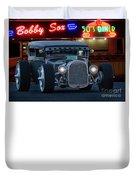 Gasoline Pump Randsburg California Duvet Cover