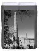 Back Of Amana Woolen Mill Amana Ia Bw Duvet Cover
