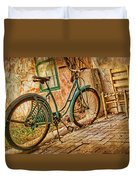 Back Patio Duvet Cover by Nikolyn McDonald