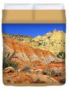 Back Roads Utah Duvet Cover