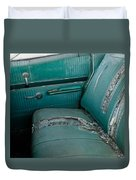 Back Seat Blues  Duvet Cover