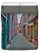 Back Street Love Duvet Cover