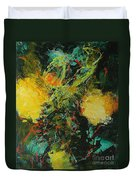 Back To Eden Duvet Cover