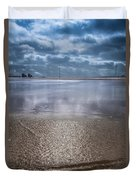Back To Sea Duvet Cover