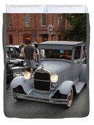 Back To The 50s - Grants Pass Duvet Cover