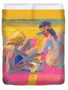 Backgammon Duvet Cover