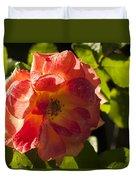 Backlit  Rose Duvet Cover