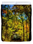 Backroads Of The Great Smoky Mountains National Park Duvet Cover