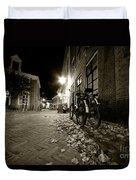 Backstreet Of Amersfoort  Duvet Cover