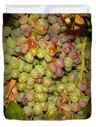 Backyard Garden Series -hidden Grape Cluster Duvet Cover