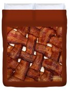 Bacon Weave Square Duvet Cover