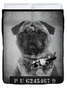 Bad Dog Duvet Cover by Edward Fielding