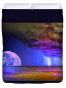 Bad Moon Rising Duvet Cover