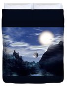 Bad Moons On The Rise Duvet Cover