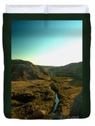 Badlands Coulee Duvet Cover