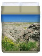 Badlands National Park  1 Duvet Cover