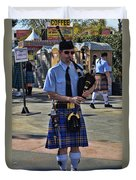 Bagpipes Duvet Cover
