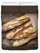 Baguettes Bread Duvet Cover