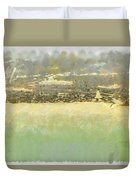 Bahai House Of Worship And Lake Michigan Shoreline Duvet Cover