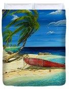Bahama Beach Duvet Cover