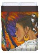 Baile Con Colores Duvet Cover