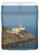Baily Lighthouse Howth Duvet Cover
