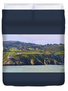 Baily Lighthouse Panorama 1 Duvet Cover