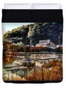 Bait Shop And Restaurant 02 Merged Image Duvet Cover