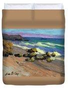 Baja Beach Duvet Cover