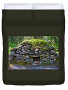 Bake Oven From 1884-5 In  Kicking Horse Campground In Yoho Np-bc Duvet Cover