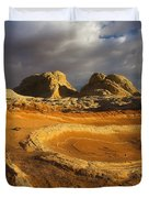 Baked Earth Duvet Cover