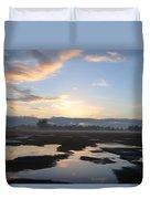 Bakersfield Sunrise Duvet Cover