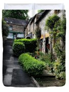Bakewell Country Terrace Houses - Peak District - England Duvet Cover