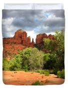 Balance At Cathedral Rock Duvet Cover
