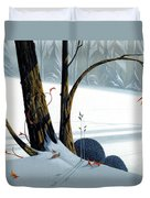 Balancing Act  Duvet Cover