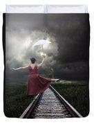 Balancing Duvet Cover by Joana Kruse