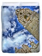 Balboa Park's California Tower By Diana Sainz Duvet Cover