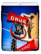 Balboa Pharmacy Drug Store Newport Beach Photo Duvet Cover