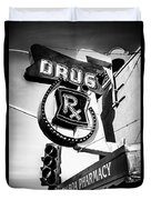 Balboa Pharmacy Drug Store Orange County Photo Duvet Cover