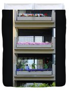 Balconies 4 Duvet Cover