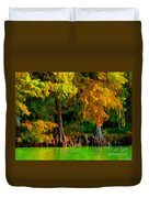 Bald Cypress 4 - Digital Effect Duvet Cover