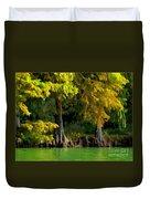 Bald Cypress Trees 1 - Digital Effect Duvet Cover