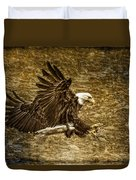 Bald Eagle Capture Duvet Cover