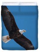 Bald Eagle In Flight 5 Duvet Cover