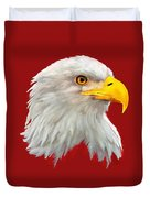 Bald Eagle Painting Duvet Cover
