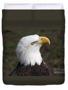 Bald Eagle Portrait Duvet Cover