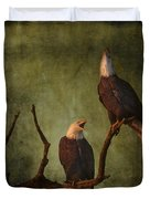 Bald Eagle Serenade Duvet Cover