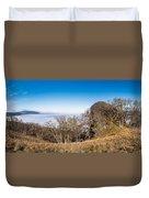Bald Hills Vista Panorama Duvet Cover
